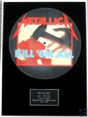 "METALLICA - Framed 12"" Picture Disc - KILL 'EM ALL"